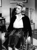 Inger Stevens Seated in Classic Photo by  Movie Star News