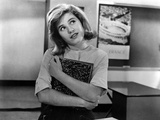 Patty Duke Looking Up on White Top Photo by  Movie Star News