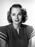 June Lockhart on a Dress Portrait Photo by  Movie Star News