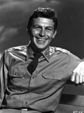 Andy Griffith Posed in White Polo Photo by  Movie Star News