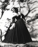 Loretta Young Long Gown Balloon Photo by  Movie Star News