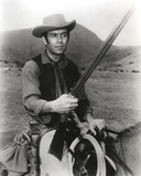 Bonanza Posed on Horse with Rifle Photo by  Movie Star News