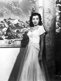 Gail Russell Posed in White Gown Photo by  Movie Star News