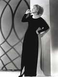 Joan Fontaine wearing a Black Gown Photo by  Movie Star News
