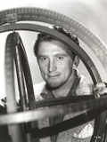 Kirk Douglas Hiding Pose Portrait Photo by  Movie Star News