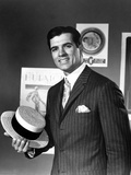 John Gavin in Black Suit With Cap Photo by  Movie Star News