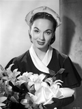 Ann Blyth Carrying a Flowers Photo by  Movie Star News