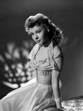 Vera Ellen on Lace Dress sitting Photo by  Movie Star News