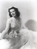 Loretta Young Bridal photography Photo by  Movie Star News