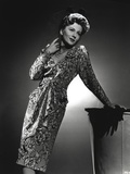 Joan Fontaine Looking Up Pose Photo by  Movie Star News