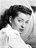 Gail Russell Posed in White Shirt Photo by  Movie Star News