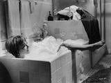 Natalie Wood Bathing in a Bath tub Photo by Mel Traxel