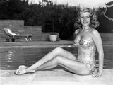 Rita Hayworth in a Swimming Suit Photo by  Movie Star News