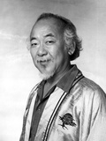 Pat Morita Posed in Taekwando Suit Photo by  Movie Star News