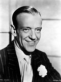 Fred Astaire Posed in Suit and Tie Photo by Bud Fraker