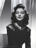 Ava Gardner posed On Black Dress Photo by  Movie Star News