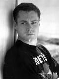 David Keith Posed in Black Shirt Photo by  Movie Star News