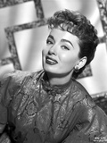 Ann Blyth on a Printed Silk Dress Photo by  Movie Star News