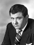 Buddy Hackett Posed in Black Suit Photo by  Movie Star News