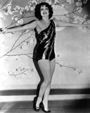 Clara Bow Posed with Sexy Dress Photo by ER Richee