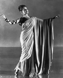 Rita Hayworth Pose in Roman Gown Photo by Ned Scott