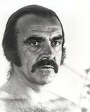 Sean Connery Portrait in Topless Photo by  Movie Star News