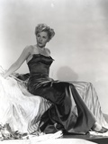 Joan Fontaine wearing Black Gown Photo by  Movie Star News