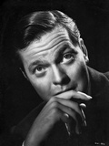 Orson Welles Portrait in Classic Photo by Ted Allan