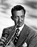 Harry James in Suit With Trumpet Photo by  Movie Star News