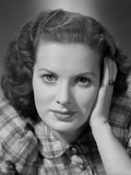 Maureen O'Hara Clos Up Portrait Photo by E Bachrach