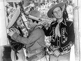 Abbott & Costello in Cowboy Hats Photo by  Movie Star News