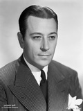 George Raft Posed in Suit and Tie Photo by ER Richee