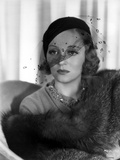 Talullah Bankhead on Netted Veil Photo by  Movie Star News