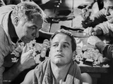 Paul Newman Talked by a Man Scene Photo by  Movie Star News