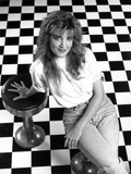 Crystal Bernard Seated in Classic Photo by  Movie Star News