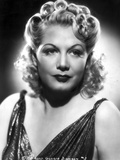 Gloria Dickson Portrait in Classic Photo by  Movie Star News