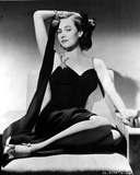 Teresa Wright Seated in Classic Photo by  Movie Star News
