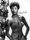 Sarah Vaughan Posed wearing Gown Photo by  Movie Star News