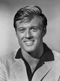 Robert Redford smiling in Portrait Photo by Mel Traxel