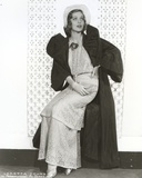 Loretta Young Long Dress and Coat Photo by  Movie Star News
