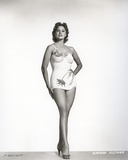 Rhonda Fleming standing Portrait Photo by  Movie Star News