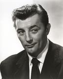 Robert Mitchum Smirking in Suit Photo by  Movie Star News