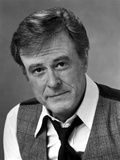 Robert Culp Talking in Black Suit Photo by  Movie Star News