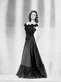 Susan Hayward wearing a Black Gown Photo by  Movie Star News