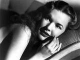 Gale Storm Reclining in Classic Photo by  Movie Star News