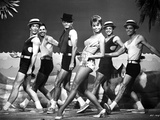 Juliet Prowse Dancing in Classic Photo by  Movie Star News
