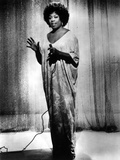 Sarah Vaughan singing in Classic Photo by  Movie Star News