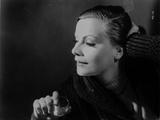 Greta Garbo Looking Down Pose Photo by  Movie Star News