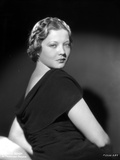 Sylvia Sidney Posed in Black Dress Photo by  Movie Star News