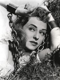 Paulette Goddard Posed with Chain Photo by  Movie Star News
